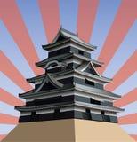 Castelo japonês Imagem de Stock
