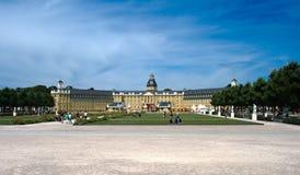 Castelo Karlsruhe - vista panorâmica Imagens de Stock