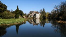 Castelo Kent England de Scotney Foto de Stock