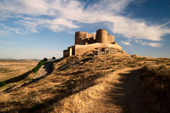 Castelo. La Mancha Fotografia de Stock Royalty Free
