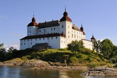 Castelo Lacko Imagem de Stock Royalty Free