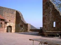 Castelo Landeck Klingenmuenster Fotos de Stock Royalty Free