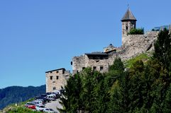 Castelo Landskron, Carinthia, Áustria Imagem de Stock Royalty Free