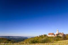 Castelo Leuchtenburg no outono Fotografia de Stock