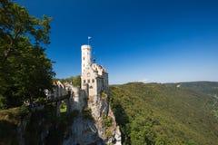 Castelo Lichtenstein Fotos de Stock Royalty Free