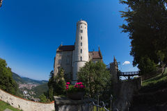 Castelo Lichtenstein Foto de Stock Royalty Free
