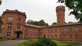 Castelo lituano fotografia de stock royalty free