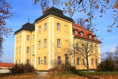 Castelo Lomnica Imagem de Stock