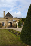 Castelo Magnol, Bordéus, France foto de stock