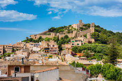 Castelo Mallorca de Capdepera Imagem de Stock Royalty Free