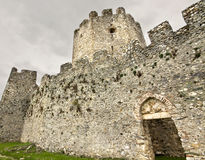 Castelo medieval da era em Europa sul Fotos de Stock Royalty Free