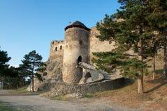 Castelo medieval de Boldogko na região Hungria de Tokaj fotos de stock