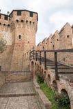 Castelo medieval de Gradara Pesaro- Itália Imagens de Stock Royalty Free