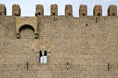 Castelo medieval de Torroella de Montgri imagens de stock