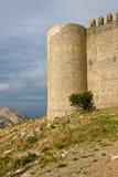 Castelo medieval de Torroella de Montgri foto de stock