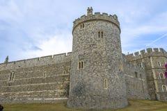 Castelo medieval de Windsor em Berkshire, Inglaterra Fotografia de Stock Royalty Free