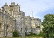 Castelo medieval de Windsor em Berkshire, Inglaterra Imagem de Stock