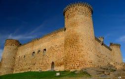 Castelo medieval em Spain fotos de stock