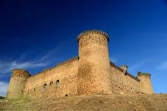 Castelo medieval em Spain imagens de stock royalty free