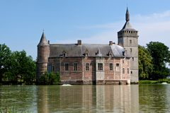 Castelo medieval Horst, Bélgica Imagens de Stock Royalty Free