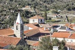 Castelo Mendo Dziejowa wioska Obrazy Royalty Free