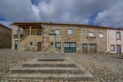 Castelo Mendo, dziejowy wioski inte okręg Guarda P zdjęcia stock