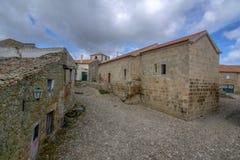 Castelo Mendo, dziejowy wioski inte okręg Guarda P obraz royalty free