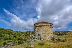 Castelo Mendo, historical village inte the district of Guarda. P stock photography