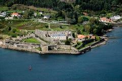 Castelo militar de San Felipe imagem de stock