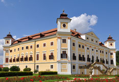 Castelo Milotice, república checa imagem de stock