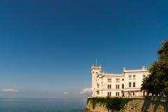 Castelo Miramare Imagem de Stock