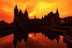 Castelo misterioso Imagem de Stock Royalty Free