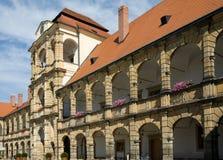 Castelo Moravska Trebova Imagem de Stock Royalty Free
