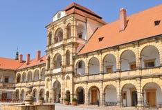 Castelo Moravska Trebova imagem de stock