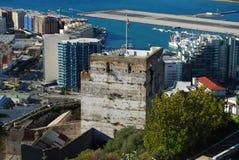 Castelo mouro, Gibraltar Fotografia de Stock Royalty Free