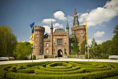 Castelo Moyland Imagens de Stock Royalty Free
