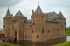 Castelo Muiderslot fotos de stock royalty free