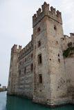 Castelo na água Imagem de Stock Royalty Free