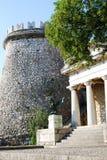 Castelo na Croácia de Rijeka - Gradina de Trsat Fotos de Stock Royalty Free