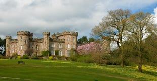 Castelo na mola Foto de Stock Royalty Free