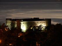 Castelo na noite Foto de Stock Royalty Free