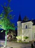 Castelo na noite Imagem de Stock Royalty Free