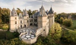 Castelo no ³ w do uchà do 'de GoÅ, Wielkopolska foto de stock