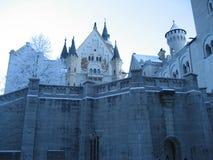 Castelo no bavaria fotografia de stock