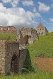 Castelo no castelo que levanta-se em Norfolk norte. Fotografia de Stock