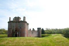 Castelo no fosso Imagem de Stock Royalty Free