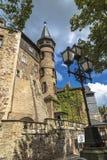 Castelo no monte imagem de stock