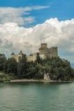 Castelo no monte Imagens de Stock Royalty Free