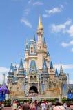 Castelo no mundo de Disney em ORlando fotos de stock royalty free