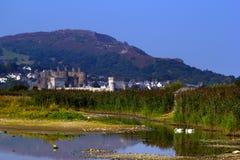 Castelo no sol Imagem de Stock Royalty Free